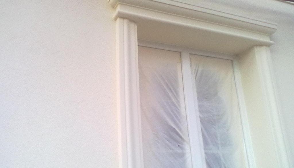 декорирование окна