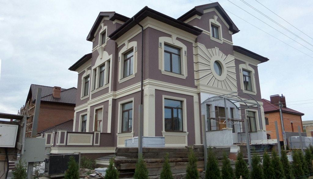 Пример фасада дома