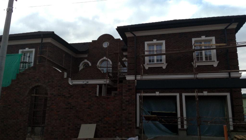 дом фасад декор