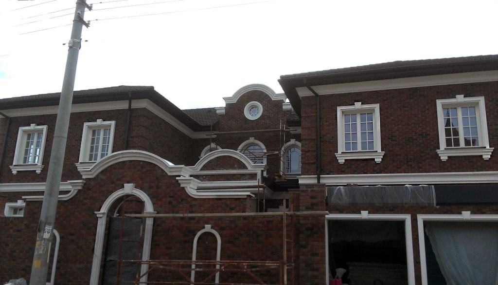 декор для дома фасад