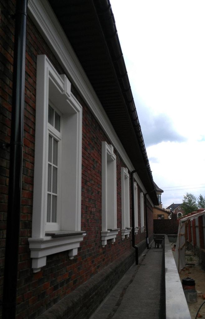 декоративные элементы фасада дома