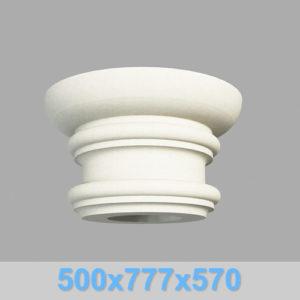 Капитель колонны КК107-550