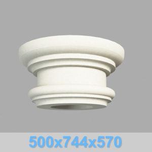 Капитель колонны КК106-550