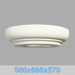 Капитель колонны КК105-550