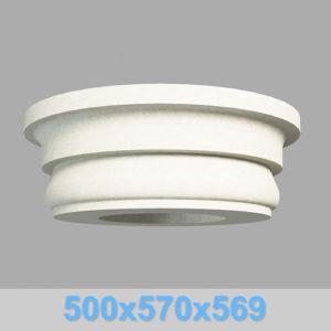 Капитель колонны КК102-550