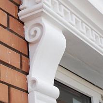 Кронштейни фасадні з пінопласту