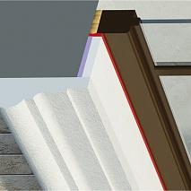 Міжповерхові пояси з пінопласту