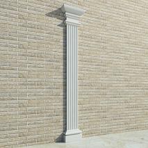 Пилястры фасадные из пенопласта