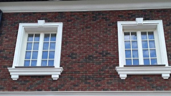 окна на фасаде